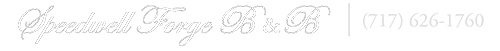 Speedwell Forge Bed and Breakfast Retina Logo