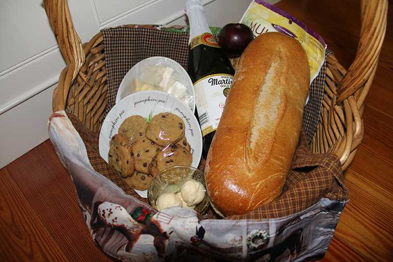 basket of goodies - special
