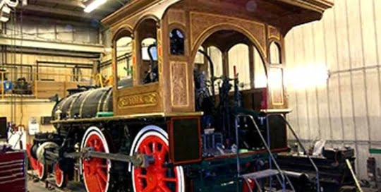 Steam Train Tour at Speedwell Forge Bed & Breakfast