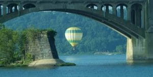Balloon Rides at Speedwell Forge Bed & Breakfast
