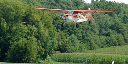 Tour by Air at Speedwell Forge Bed & Breakfast