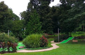 Caddy Shack Mini Golf at Speedwell Forge Bed & Breakfast