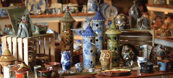 Eldreth Pottery at Speedwell Forge Bed & Breakfast