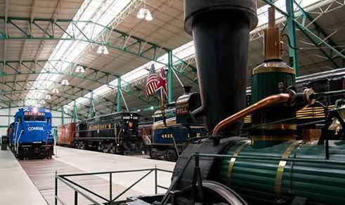 Railroad Museum at Speedwell Forge Bed & Breakfast