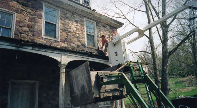 Restoration at Speedwell Forge Bed & Breakfast